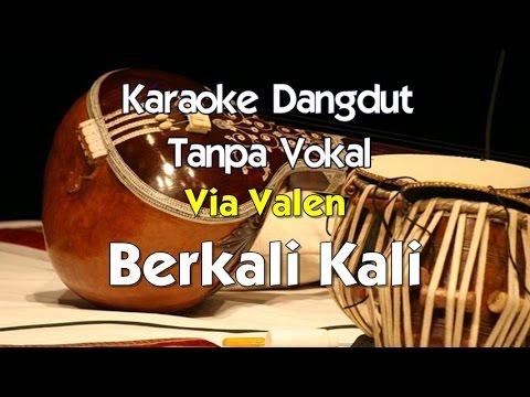 Karaoke Via Valen - Berkali Kali