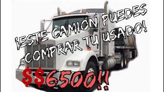 Compré un camión usado en $6,500 dls y me cambio la vida! | Con que camión comenzar en este negocio!