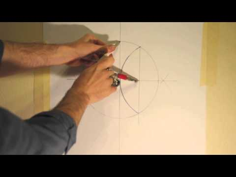 Sacred Geometry: How to draw a five pointed star