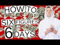 How to Make Money ONLINE - 8 STEPS to 6 FIGURES in 6 DAYS 💸