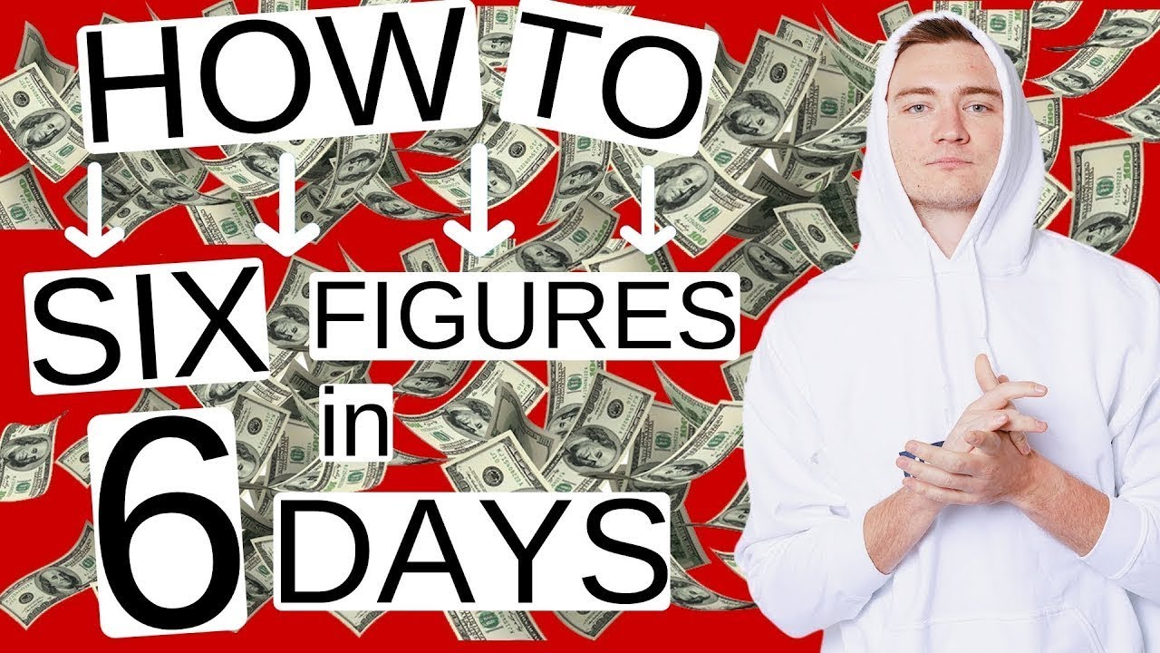 How to Make Money ONLINE - 8 STEPS to 6 FIGURES in 6 DAYS