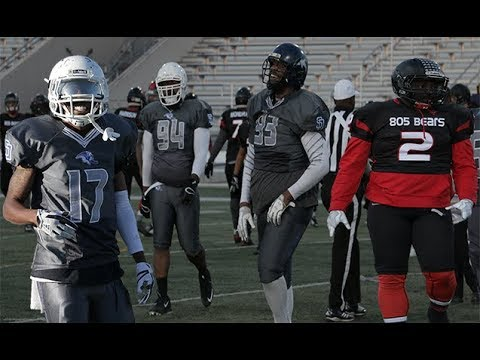 bulldog vs bears sd bulldogs vs 805 bears 2 24 18 highlights shot by 9372