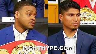 MIKEY GARCIA AND ERROL SPENCE TRADE WARNINGS THAT FIGHT WON'T BE EASY; EXPLAIN WHY THEY WILL WIN