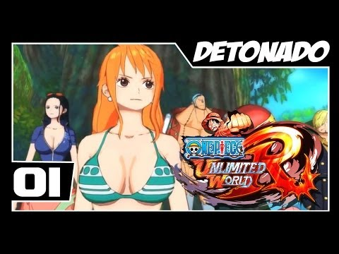 One Piece Unlimited World Red - Detonado Parte #1 - Red the Aloof Escapa!