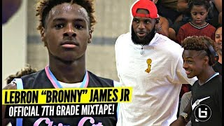 Bronny James Jr OFFICIAL Mixtape Vol. 1!!!