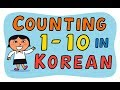 Counting 1 to 10 in Korean