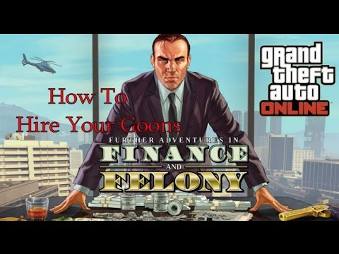 How To Hire Assocaites In GTA V Online