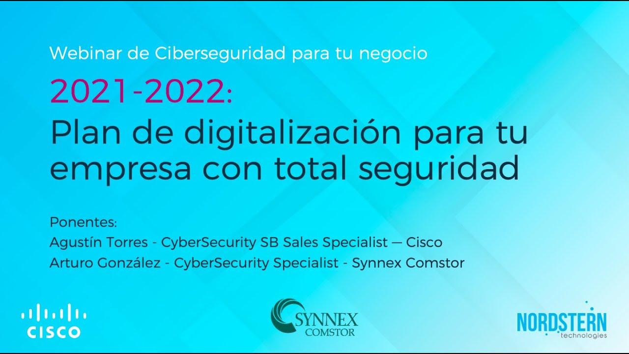 [Video] Webinar Plan de digitalización con total seguridad
