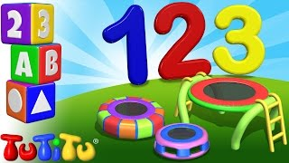 TuTiTu Preschool | 123 Trampoline | Learning Numbers | Learn to Count to 10