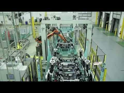 A plant in time with automotive production (en)