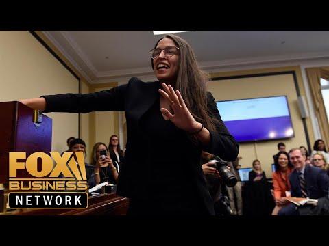Ocasio-Cortez slams Jamie Dimon for dismissing her Green New Deal