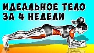 6 простых Упражнений которые сделают Идеальное тело всего за 4 недели