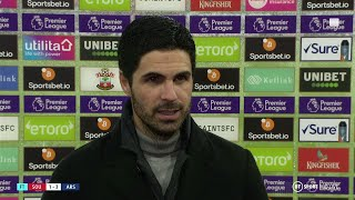 """Pepe deserved his chance and he took it"" Arteta praises Arsenal's resilience after Southampton win"