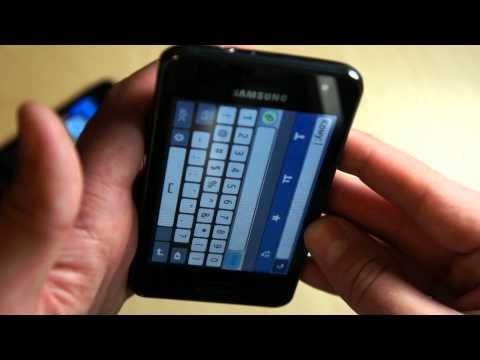 Видео Samsung S7250 Wave M