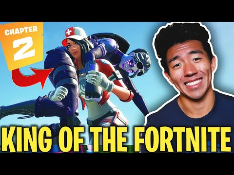 KAYKAYES PLAYS FORTNITE! THE KING OF CHAPTER 2! Fortnite Battle Royale