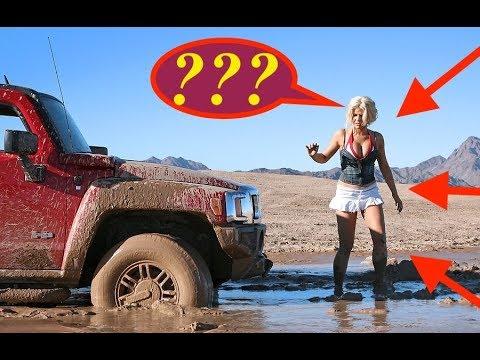 Stuck In Mud Compilation , легковушка застряла в грязи , на бездорожье на легковушках (BMW)