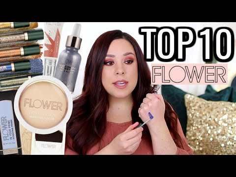 TOP 10 FLOWER BEAUTY PRODUCTS 2019!