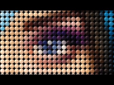 Photoshop Tutorial: How to Transform a Photo into a Dot, Mosaic Portrait thumbnail