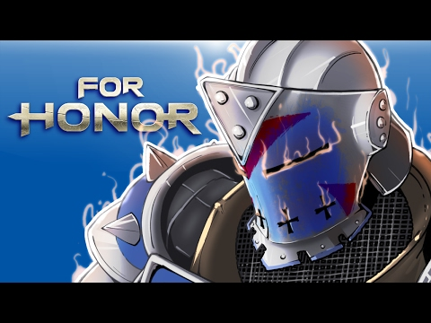 Thumbnail: For Honor - Pushing friends off cliffs! Friendly 2v2 matches!