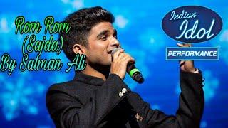 ||Salman ali|| Saajda song (rom rom tera naam pukare ) ||Salman ali|| Best song