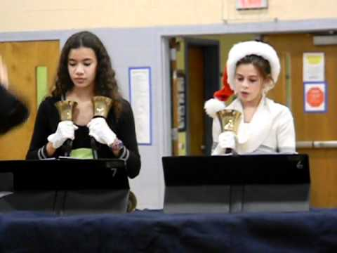 """Frosty the Snowman"" (Waldrop) by Lincoln Middle School Handbells"