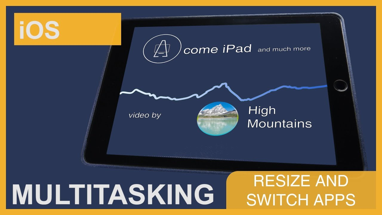 Multitasking: resize and switch apps • A come iPad