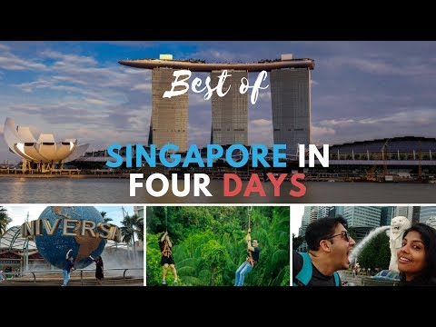 Best of Singapore in 4 days (Travel Vlog 2018)