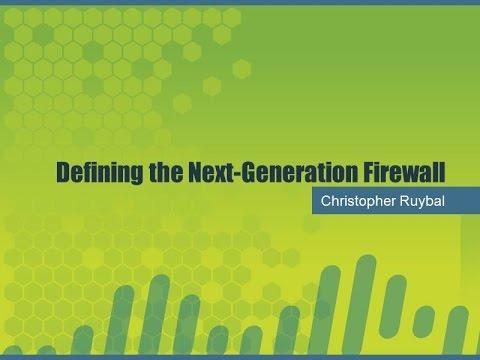 2015 TT Session 27: Next Generation Firewalls - Palo Alto