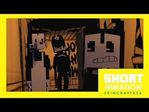 Bendy And Boris Meet Ink Demon | ShortNimation