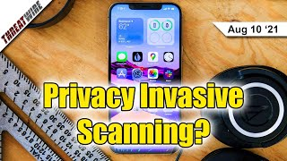 Is Apple's New CSAM Scanning Tech Privacy Invasive? - ThreatWire