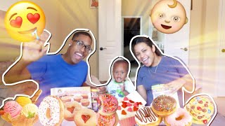 WHY WE HAVING A BABY SO EARLY !? SNACK MUKBANG