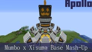 Mumbo x Xisumavoid - Hermitcraft Season 7 Base Mash-Up - feat. Grumbot - Minecraft Timelapse