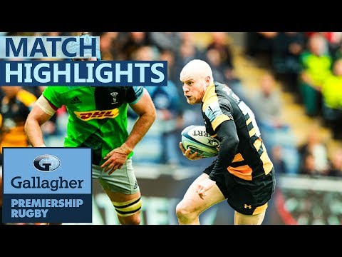 Wasps 27-25 Harlequins | Quins Fall At Final Hurdle And End 5th | Gallagher Premiership - Highlights