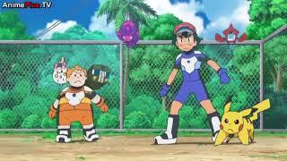 New ultra beast: Zugadon/ Pickachu electroweb /pokemon sun and moon episode 78
