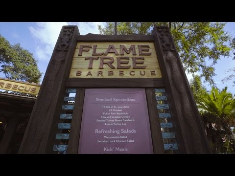 Flame Tree Barbecue Restaurant, Disney's Animal Kingdom, Walt Disney World Resort