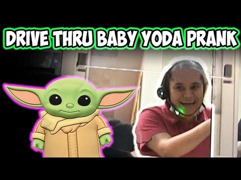 Drive Thru Baby Yoda Prank