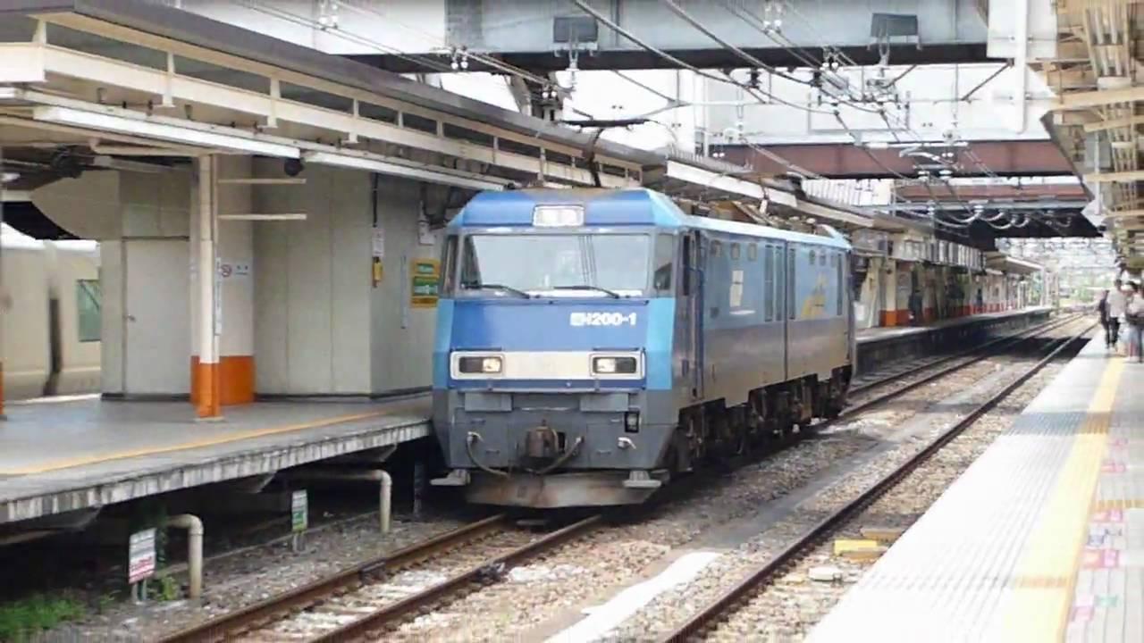 JR貨物 EH200形電気機関車を観察...