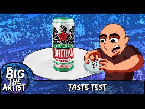 Rockstar Horchata - Taste Test