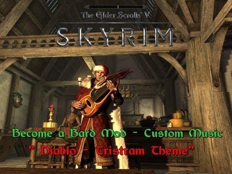 TESV Skyrim Mod Become a Bard with Custom Music