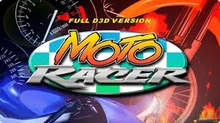 Moto Racer gameplay (PC Game, 1997)