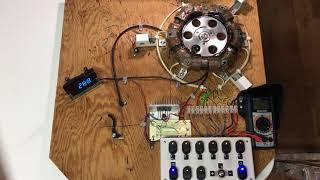 Magnetic motor by solenoid, Moteur magnétique par solénoïde, Magnetischer Motor Магнитный мотор  磁电机