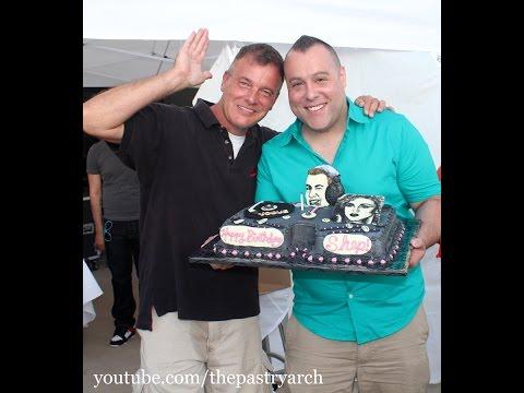 "Making a ""Vogue"" DJ Turntable Cake for Shep Pettibone!"