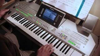 """ALF"" theme played on Yamaha Tyros 2 keyboard"