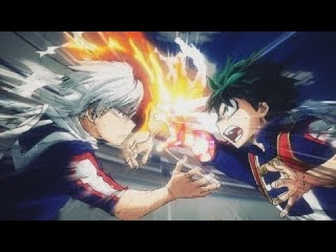 Midoriya Vs Todoroki Amv In The End Linkin Park Youtube