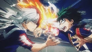 Midoriya Vs Todoroki Amv  In The End - Linkin Park