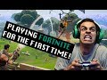 Download Playing Fortnite for the First Time! | David Lopez