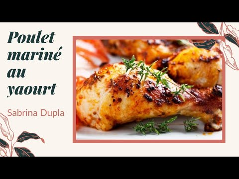 recette-poulet-rôti-marinade-yaourt-et-moutarde-تتبيلة-الدجاج-مشوي-في-الفرن-بدانون-مسوس-والمورطارد