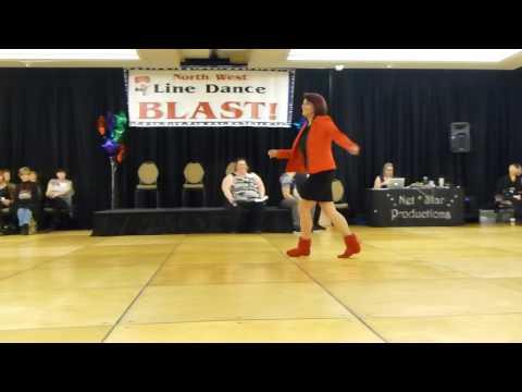 Made In The Shade Line Dance by Rachael McEnaney-White & Jo Thompson Szymanski Demo @2017NWLD
