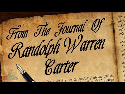 From The Journal Of Randolph Warren Carter | Indie Horror Game Walkthrough