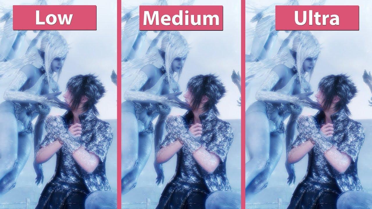 [4K] Final Fantasy XV – PC 4K Benchmark Graphics Comparison & Frame Rate  Test GTX 1080 Ti